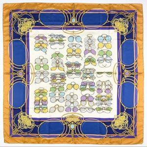 Gucci Rare Vintage Silk Scarf